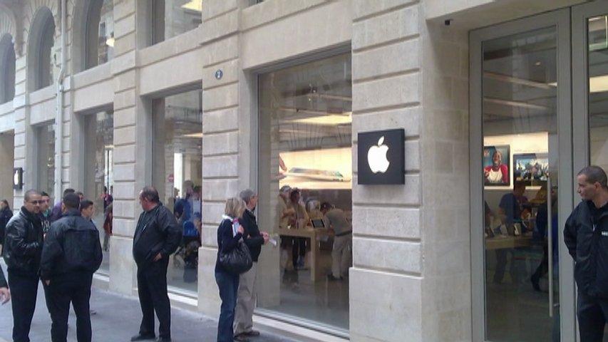 Apple Store Bordeaux Grève à lApple Store de Bordeaux