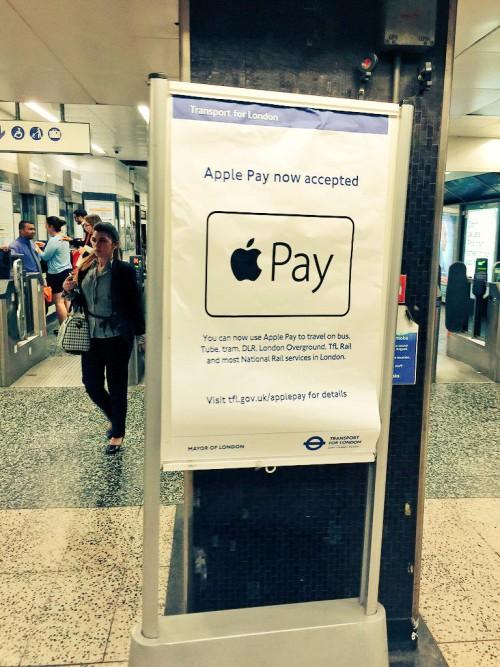 Apple Pay : pas si pratique dans le métro londonien