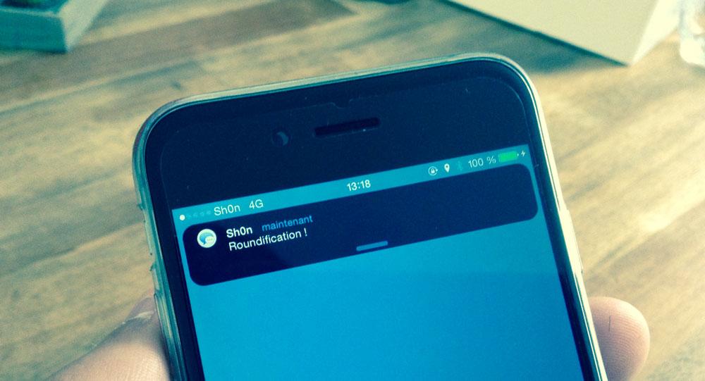 Roundification Cydia : Roundification donne un peu de rondeur à iOS