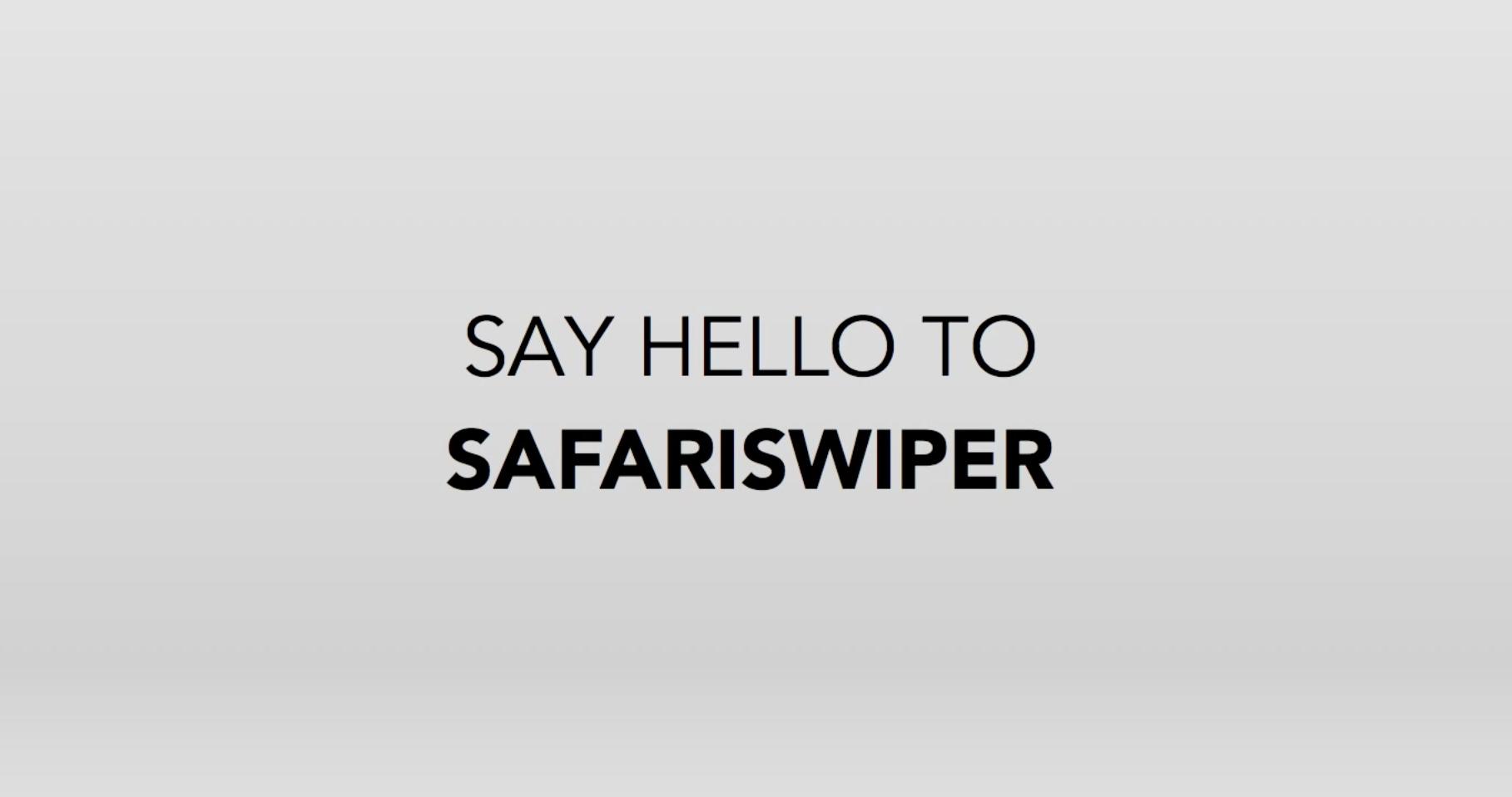 SafariSwiper Cydia : SafariSwiper, ou comment changer facilement donglet dans Safari