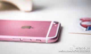 iphone 6s pink 5 320x190 iPhone 6S : rumeurs sur une probable version Rosé Or