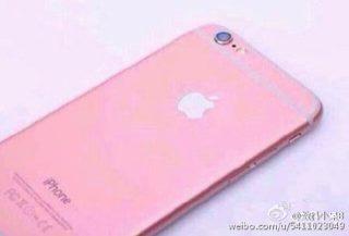 iphone 6s pink 7 320x217 iPhone 6S : rumeurs sur une probable version Rosé Or