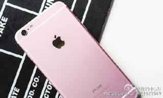 iphone 6s pink 8 320x193 iPhone 6S : rumeurs sur une probable version Rosé Or