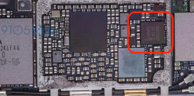 nfc chip La carte mère de liPhone 6S se dévoile !