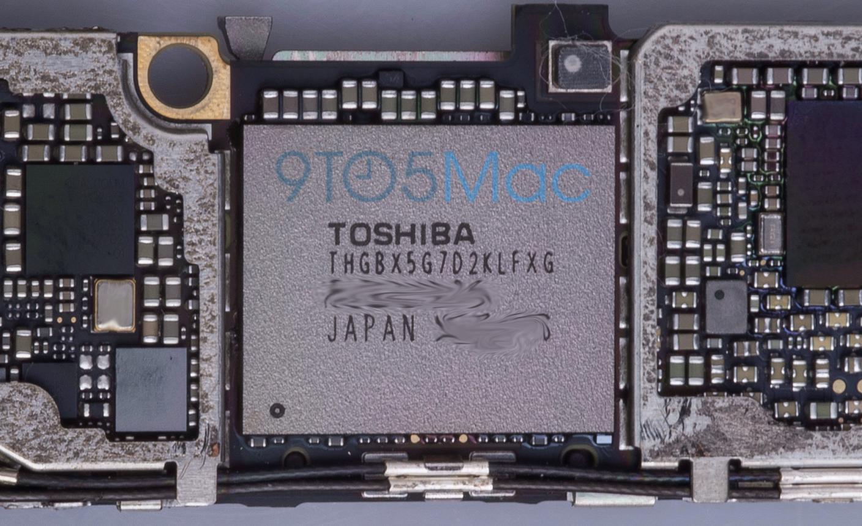 storage chip La carte mère de liPhone 6S se dévoile !