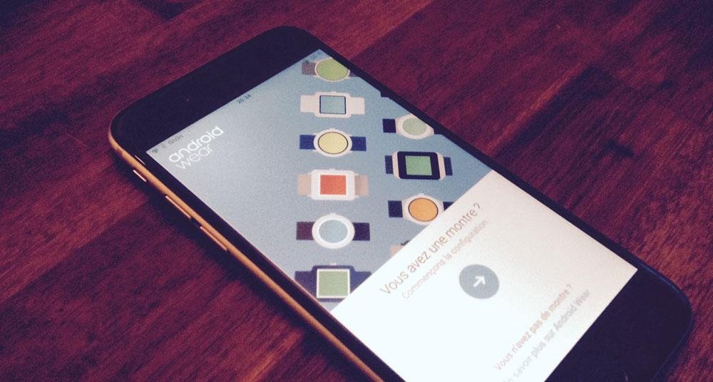 AndroidWear [MÀJ] Les montres Android Wear sont officiellement compatibles iOS !