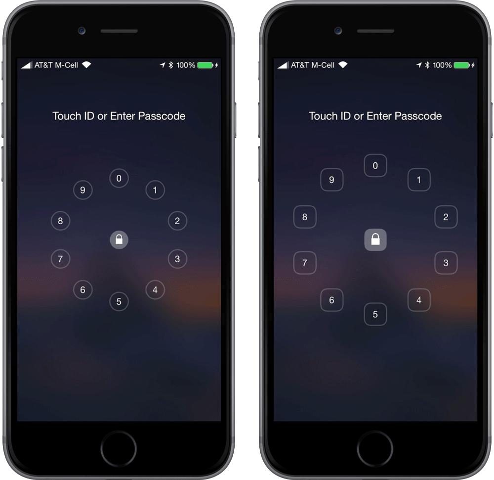 Epicentre Cydia : Epicentre, donnez de la rondeur à votre écran verrouillé