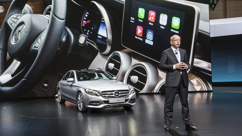 Mercedes Apple Mercedes préfère rester ouvert face à toute proposition dApple