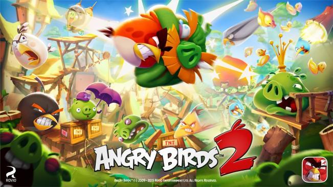 angry birds 2 e1438594663989 Angry Birds 2 : un véritable succès