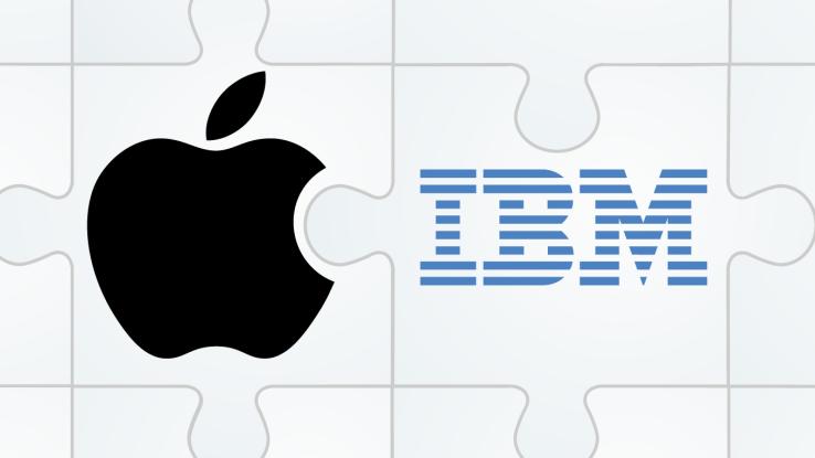 apple ibm Les Mac soutenus par IBM au sein des grandes sociétés