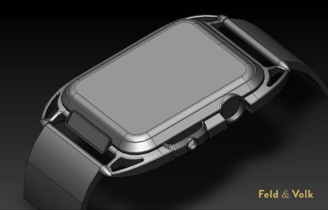 apple watch carbon feld vok e1439422961220 Un superbe concept d'Apple Watch 2 en fibre de carbone