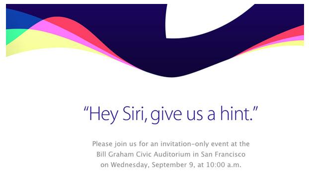 apple Apple confirme le keynote du 9 septembre !