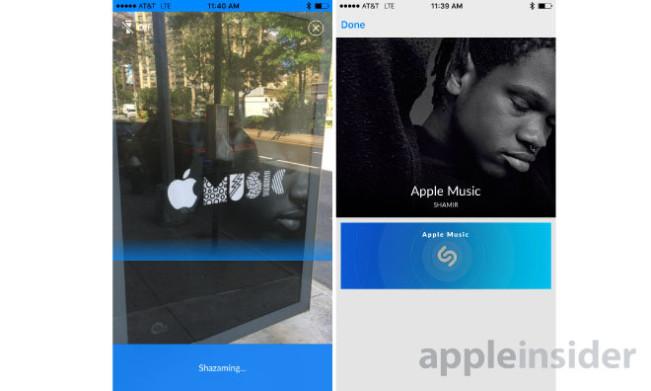 applemusic shazam e1439543268348 Des pubs Apple Music compatibles avec Shazam