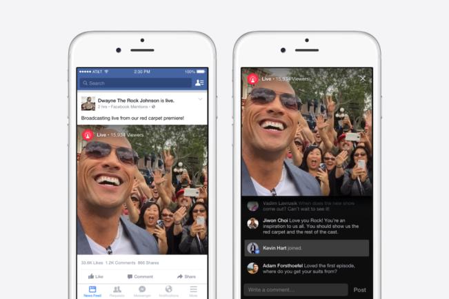 facebook live e1438855436139 App Store : Facebook Live disponible sur iOS