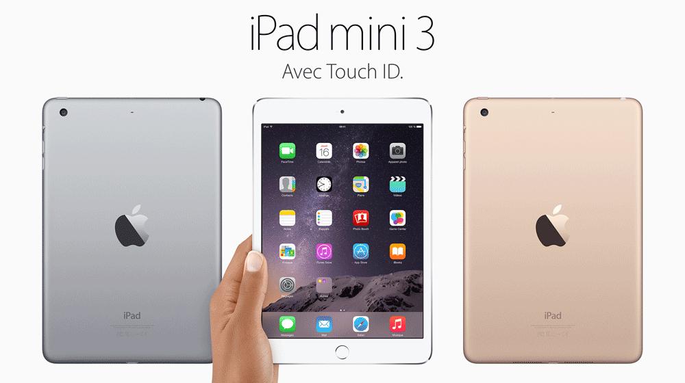 iPad mini 3 iPad mini 3