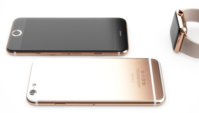 iPhone 6s or rose e1440760964339 La couleur Or Rose se confirme pour liPhone 6S
