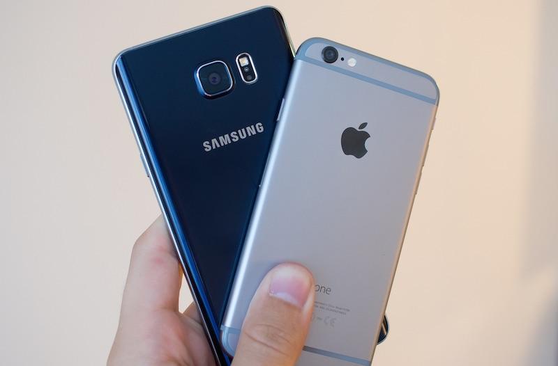 iPhone Galaxy Les utilisateurs diPhone sarrachent le nouveau Samsung Galaxy !