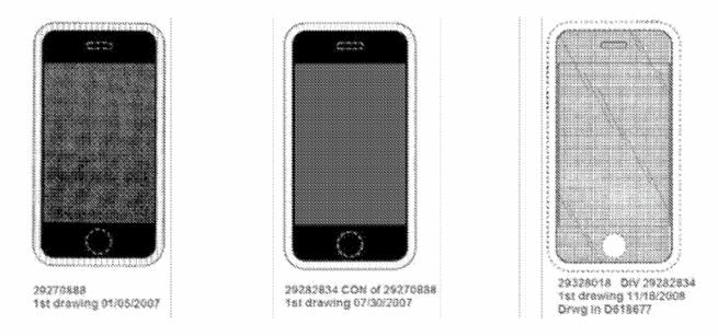 iphone brevet Un brevet du premier iPhone invalidé par l'USPTO
