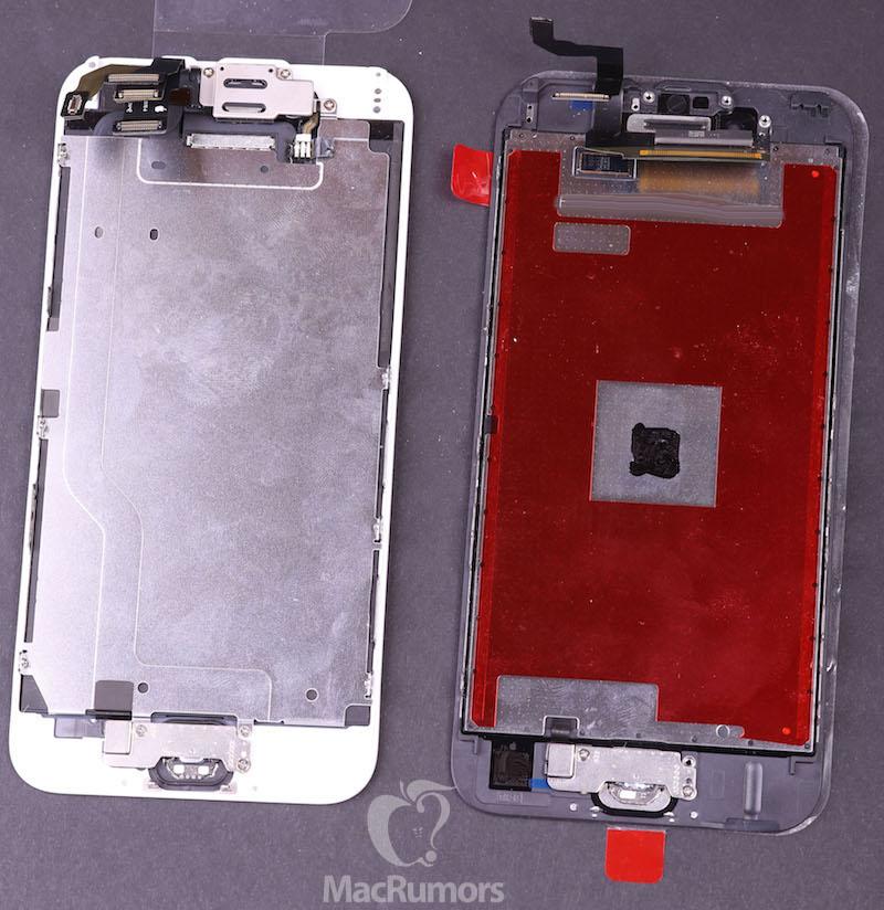 iphone 6 6s displays rear Lécran de liPhone 6S se dévoile un peu plus