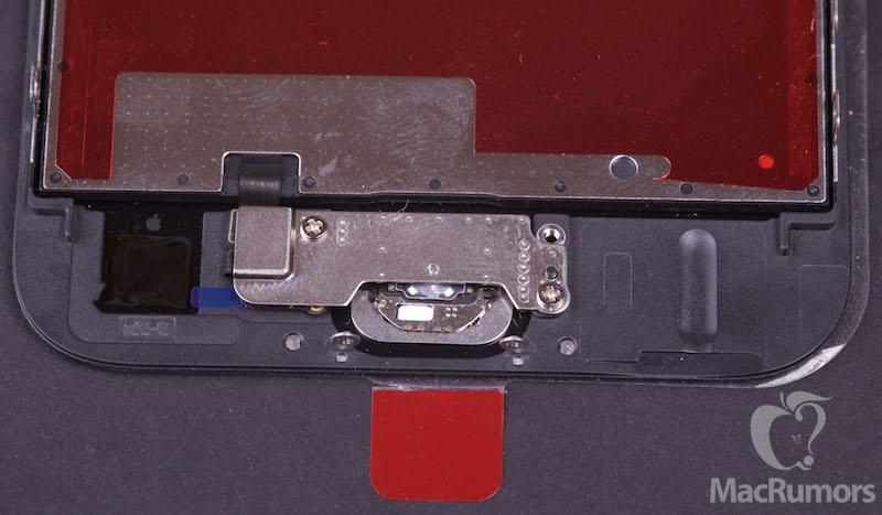 iphone 6s display bottom rear Lécran de liPhone 6S se dévoile un peu plus