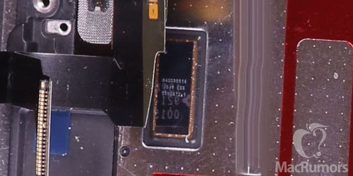 iphone 6s display chip Lécran de liPhone 6S se dévoile un peu plus