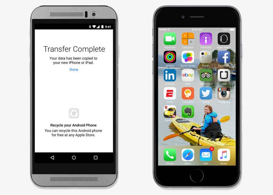 move to ios app Apple recherche de nouveaux développeurs orientés Android