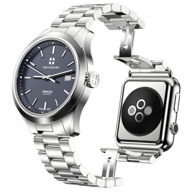 pinnacle apple watch e1438690541518 Pinnacle : une Apple Watch doublée d'une montre suisse