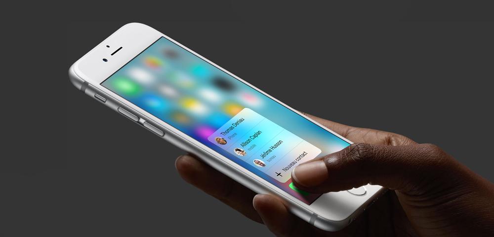 Apple 3DTouch Cydia : le 3DTouch arrive sur iOS 8 grâce au jailbreak !