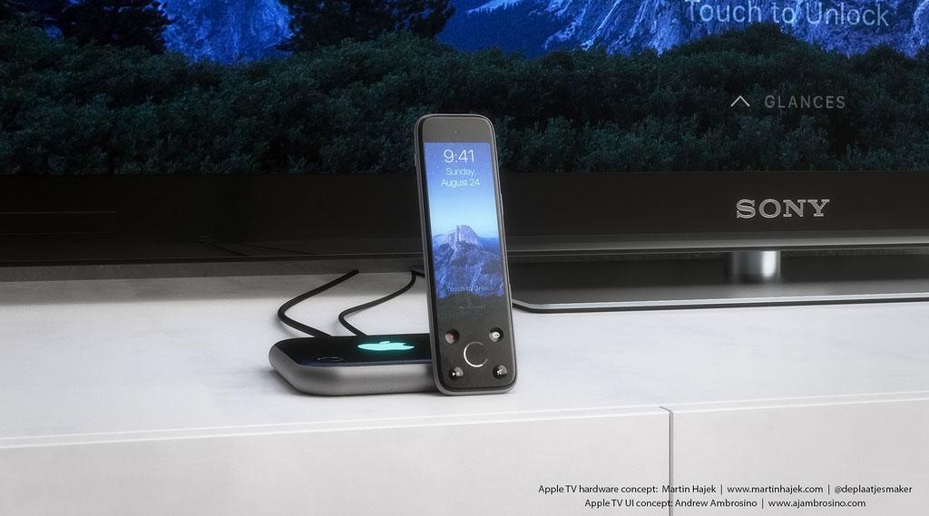 Apple TV 4 Concept 0 Apple TV : un sublime concept en attendant demain !