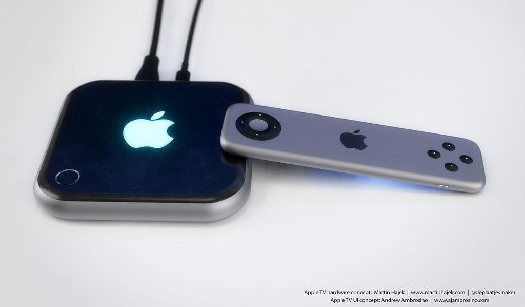 Apple TV 4 Concept 2 Apple TV : un sublime concept en attendant demain !