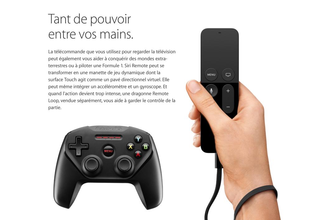 Apple TV jeu LApple TV ne fait pas encore peur aux consoles de salon !