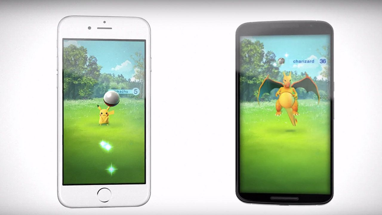 nintendo annonce pokémon go sur ios & android ! - appsystem