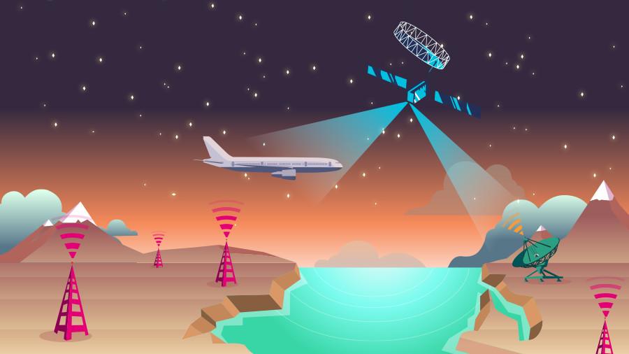 S band Still La connexion Internet en Wi Fi dans les avions arrive prochainement en Europe