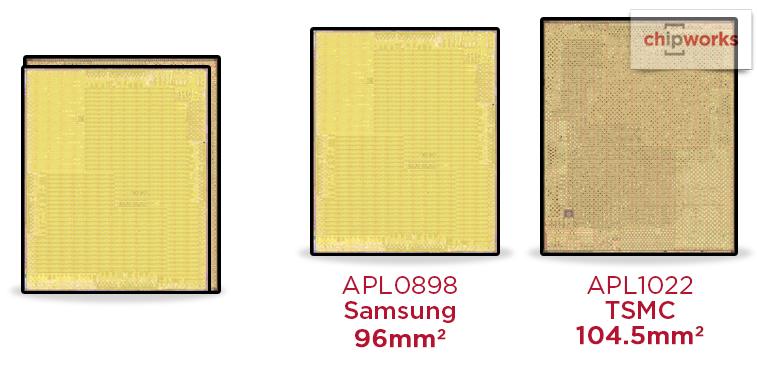 a9 iphone 6s iPhone 6s : il y a en réalité deux puces A9 différentes !