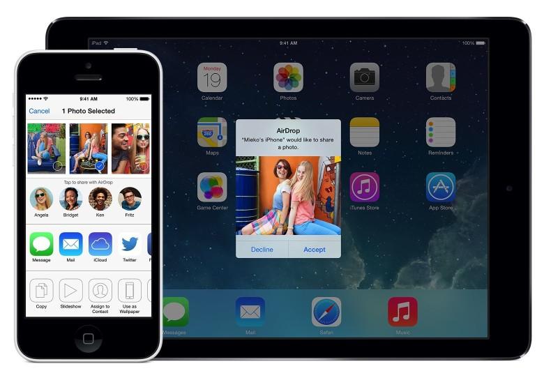 airdrop splash 780x545 Une faille de sécurité détectée sur Airdrop atténuée par iOS 9
