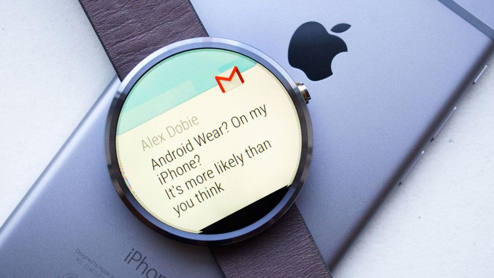 android wear iphone Google ne veut pas du HealthKit dApple pour les Android Wear !