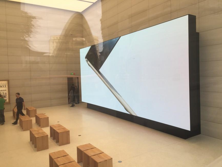 apple store bruxelles 3 Le superbe Apple Store de Bruxelles se dévoile en images