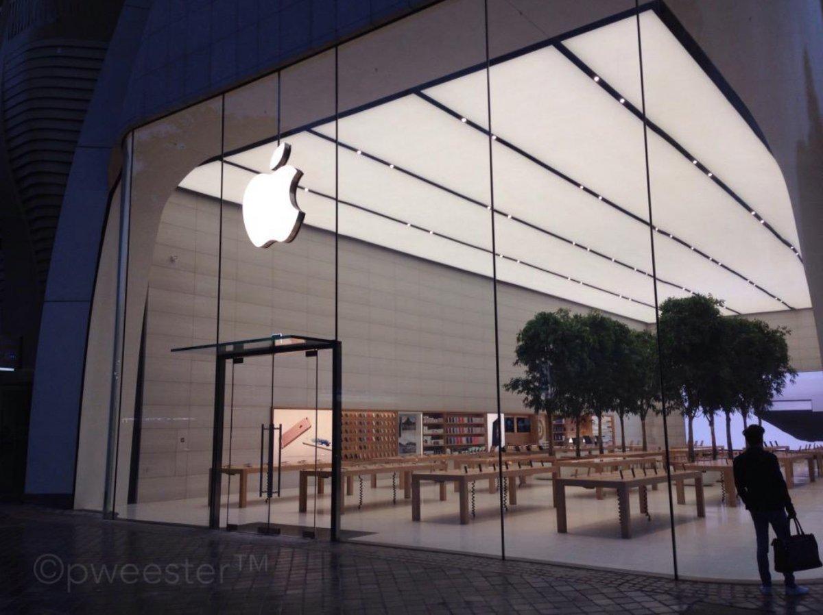 apple store bruxelles 4 Le superbe Apple Store de Bruxelles se dévoile en images