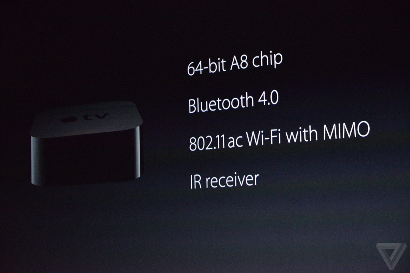 apple tv caracteristiques Bilan keynote : iPhone 6s, Apple TV 4, iPad Pro, watchOS 2