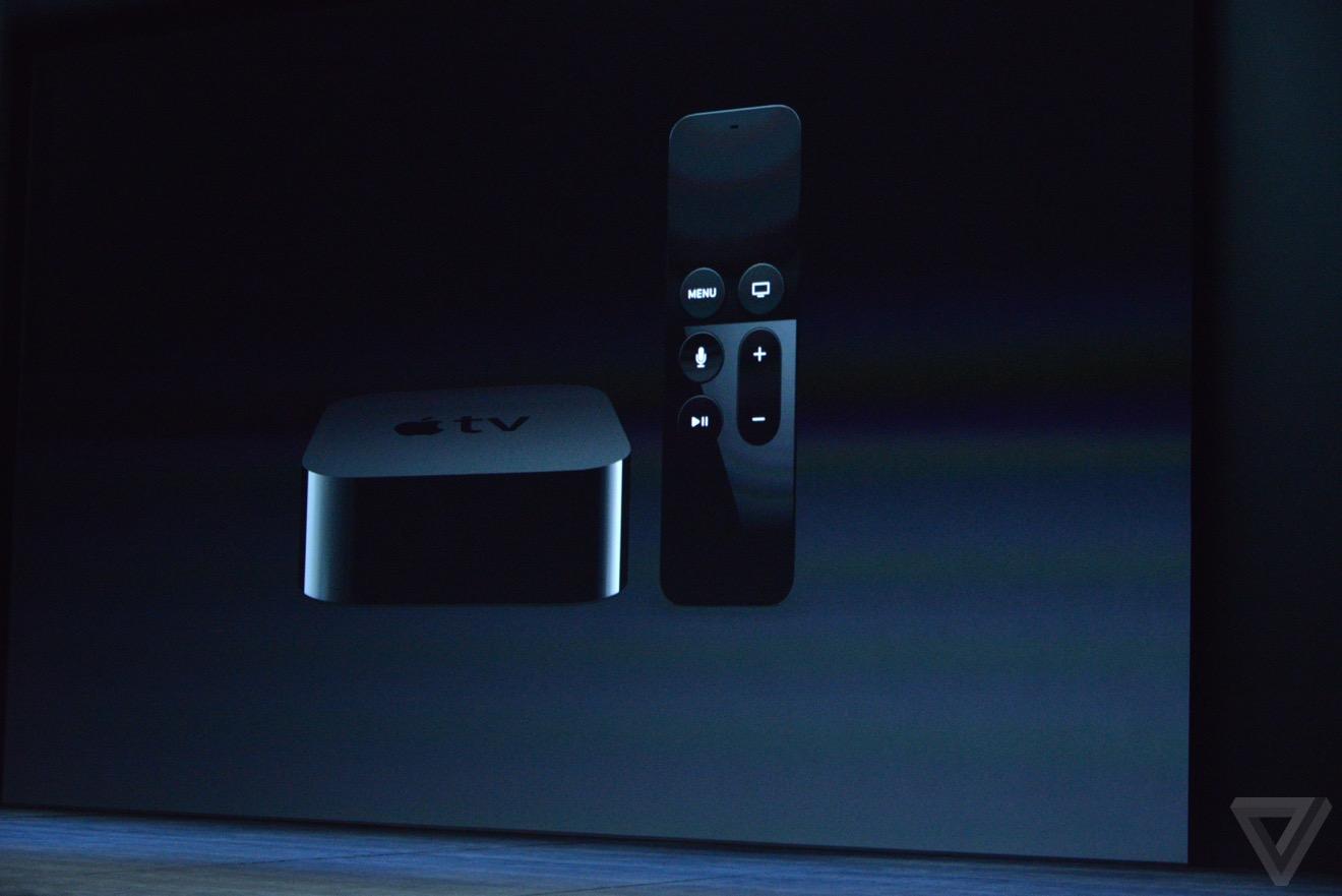 apple tv keynote Bilan keynote : iPhone 6s, Apple TV 4, iPad Pro, watchOS 2