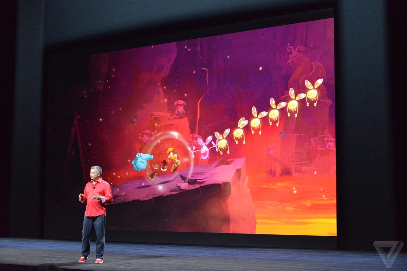 apple tv rayman Bilan keynote : iPhone 6s, Apple TV 4, iPad Pro, watchOS 2