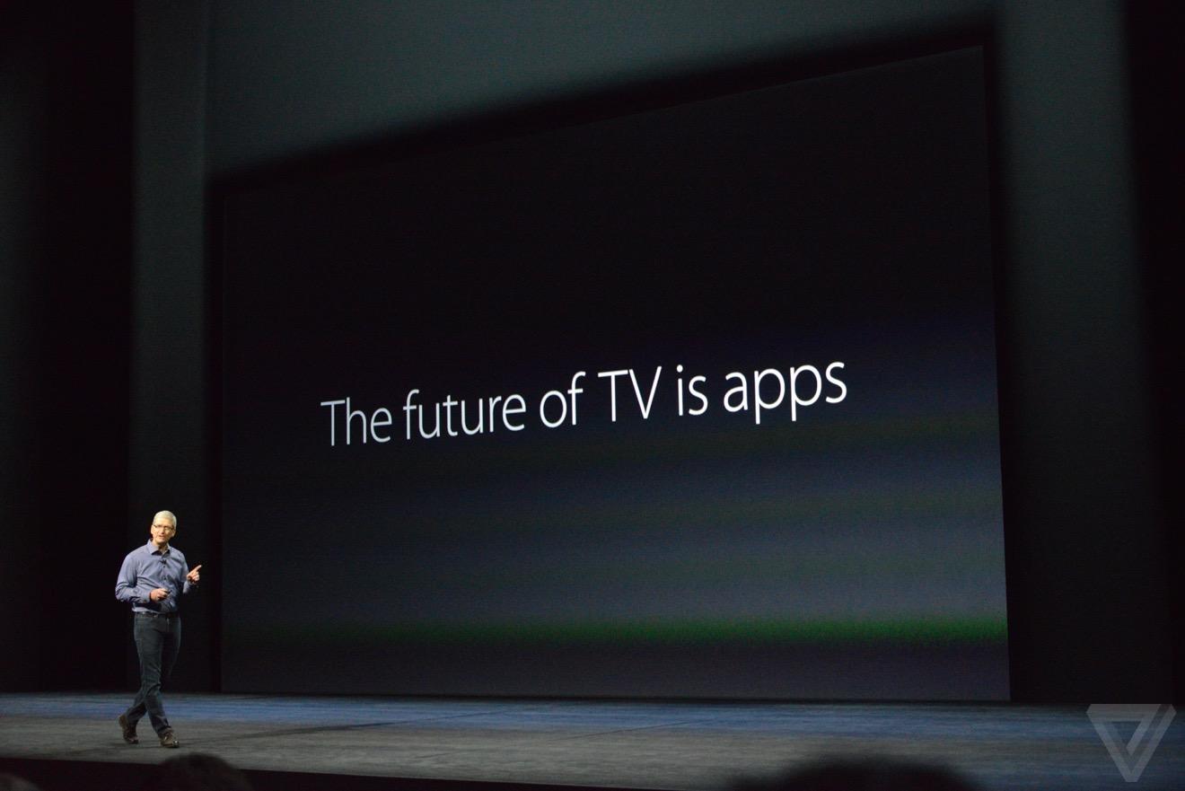 apple tv1 Bilan keynote : iPhone 6s, Apple TV 4, iPad Pro, watchOS 2