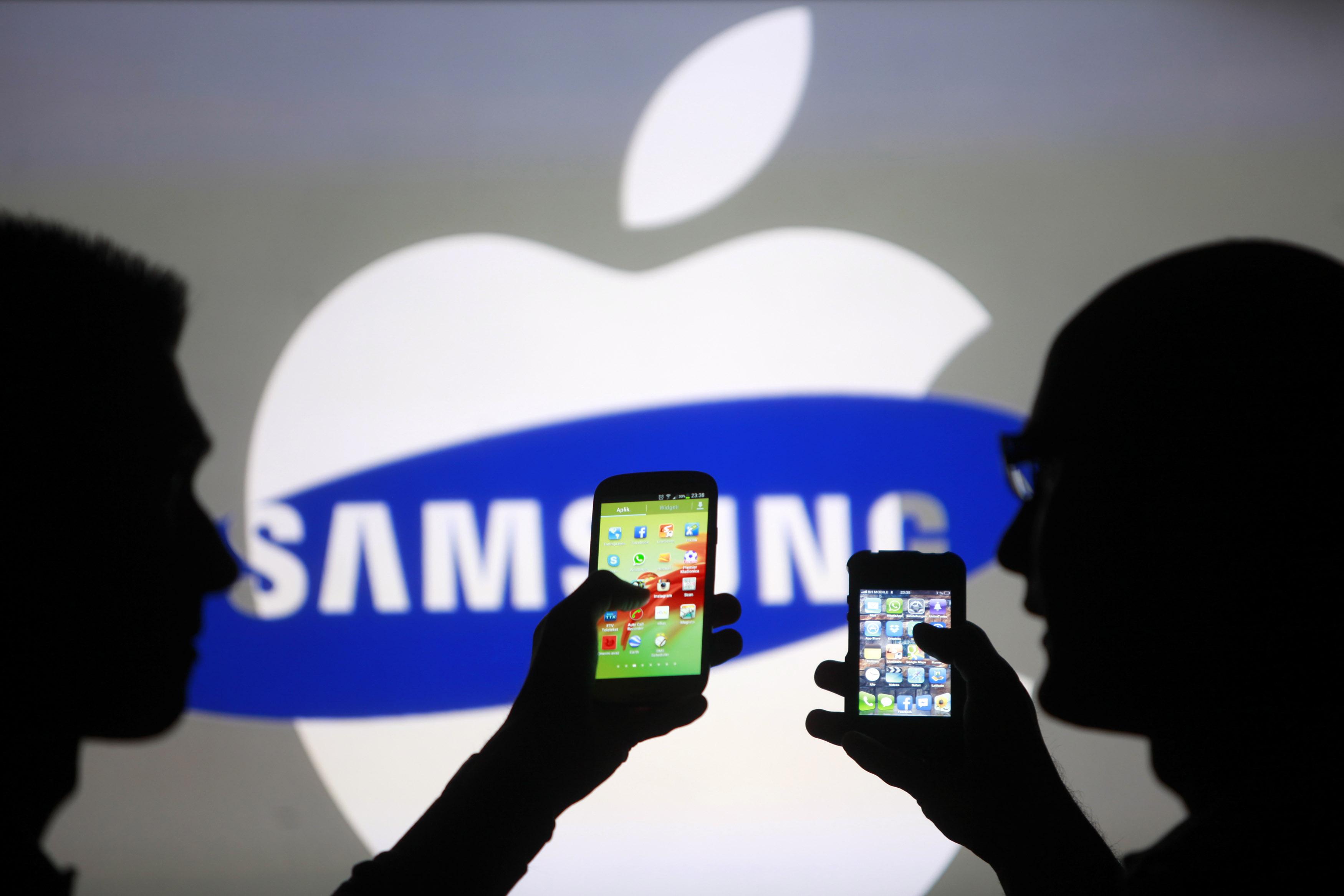 apple vs samsung Le prochain procès Apple vs Samsung est fixé à mars 2016