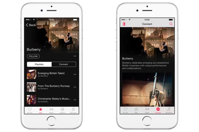 burberry apple music e1442316033562 Burberry lance sa propre chaîne Apple Music
