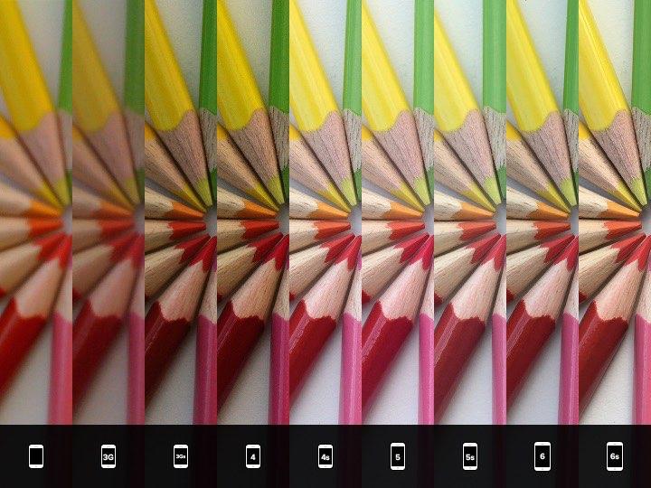 comparaison apn iphone 2 En images : les progrès de lAPN iPhone au fil des générations