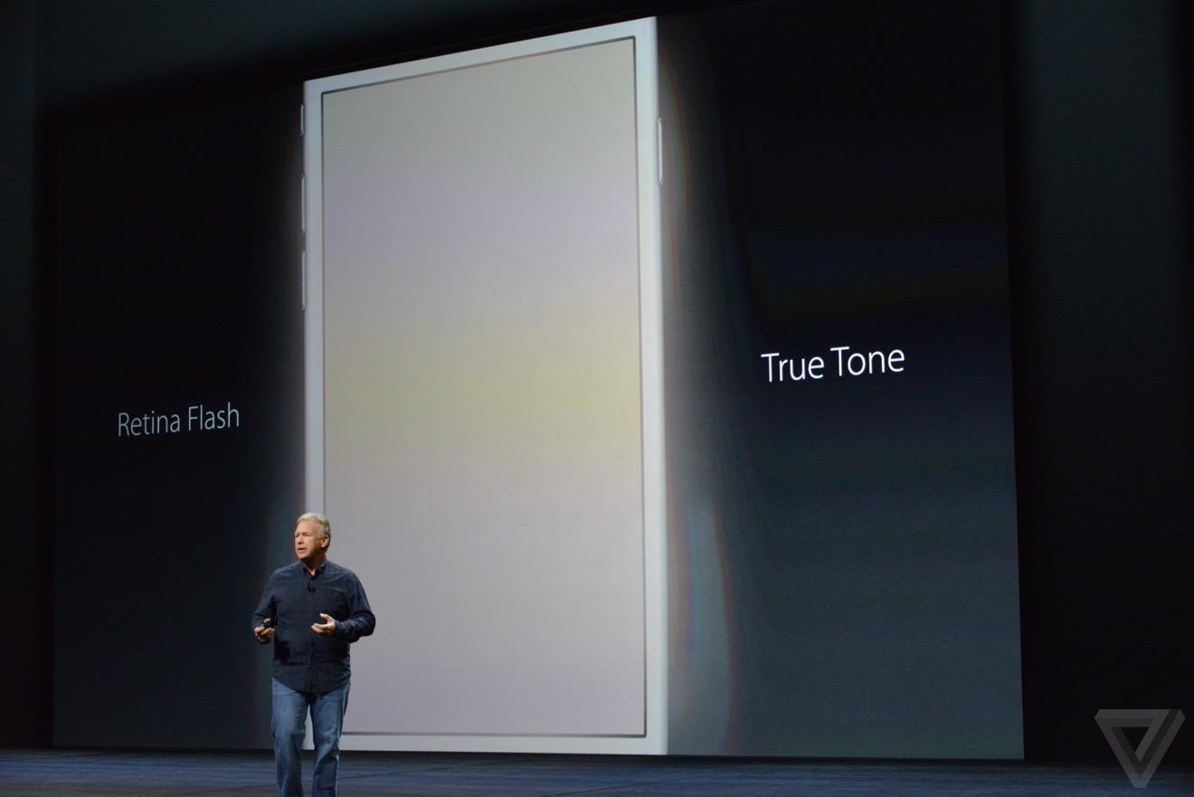 flash true tone Bilan keynote : iPhone 6s, Apple TV 4, iPad Pro, watchOS 2