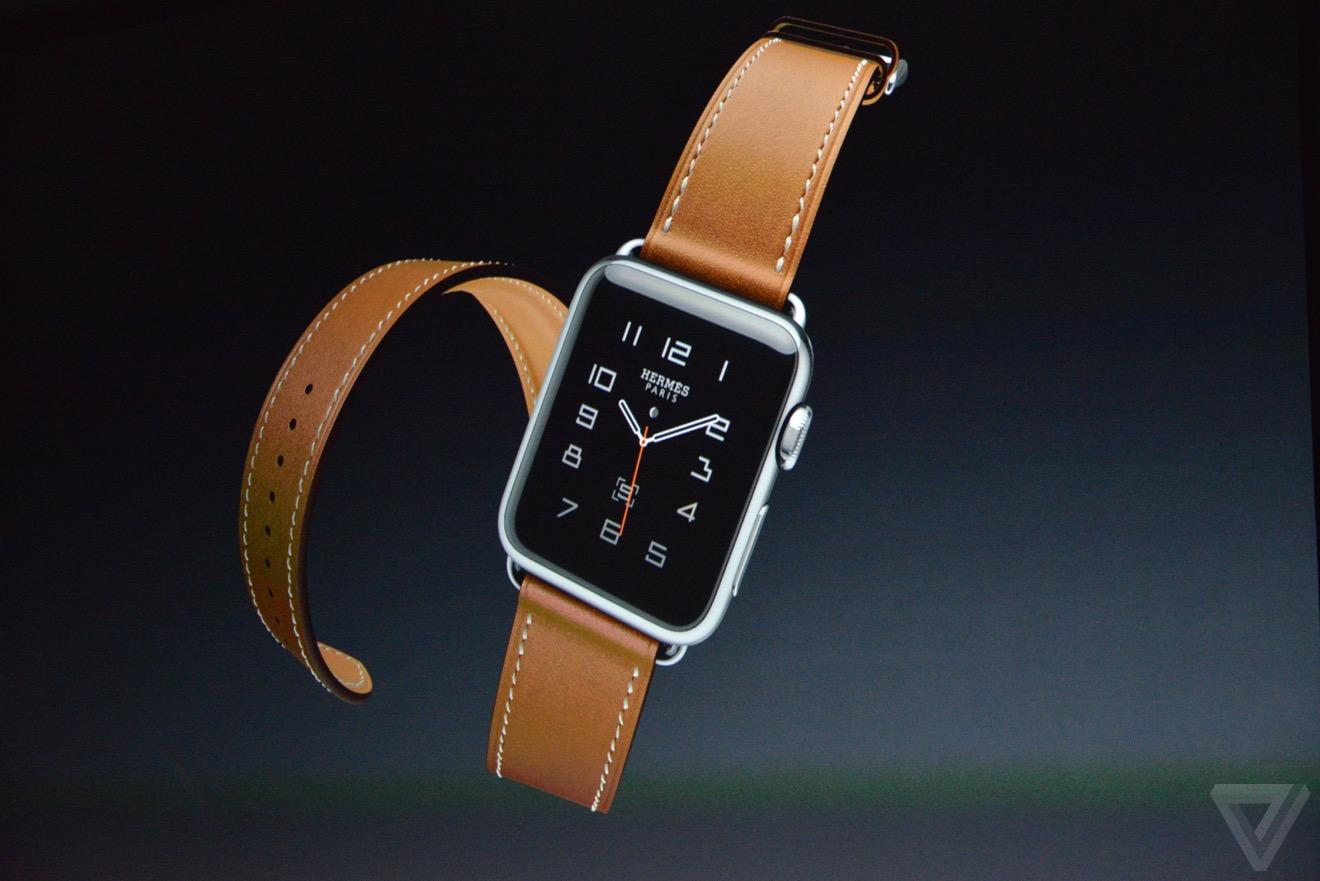 hermes apple watch Bilan keynote : iPhone 6s, Apple TV 4, iPad Pro, watchOS 2