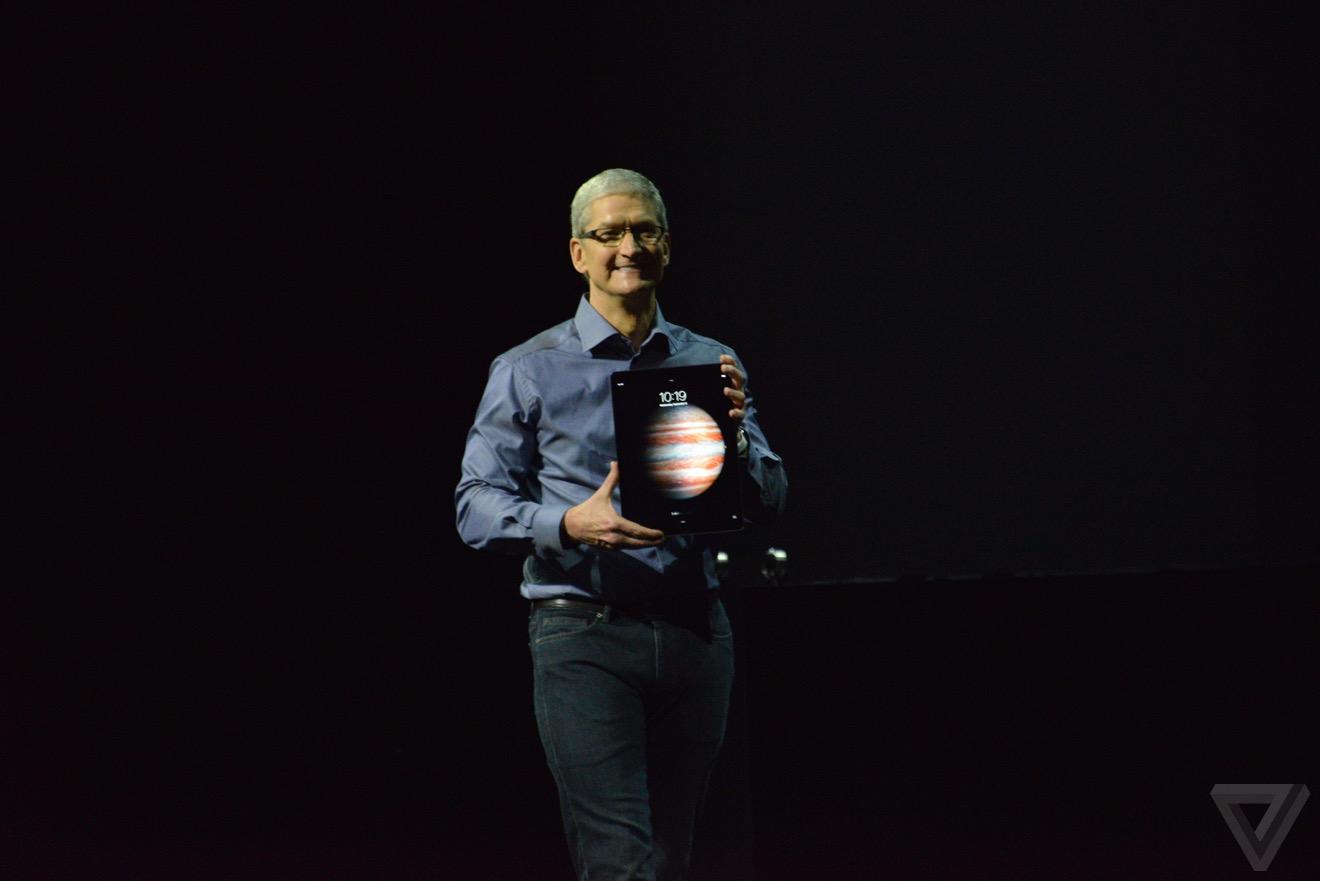 iPad Pro1 Bilan keynote : iPhone 6s, Apple TV 4, iPad Pro, watchOS 2
