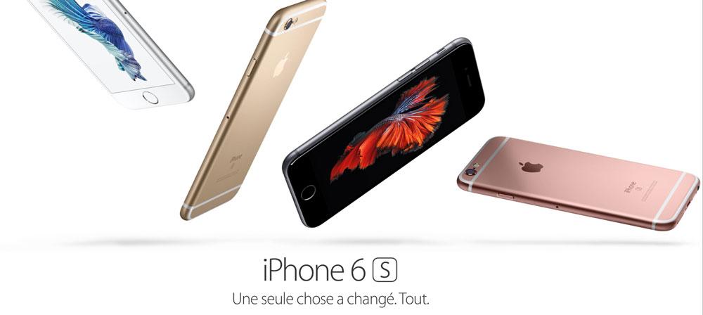iPhone 6S Les précommandes de liPhone 6S sont ouvertes chez les opérateurs mobiles !