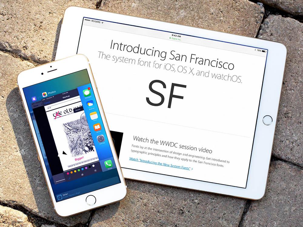 ios 9 review san francisco markup hero 50% des iDevices compatibles tourneraient désormais sous iOS 9